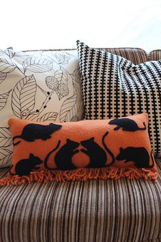 Halloween Pillow.