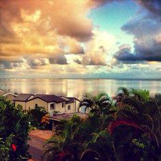 Kāneʻohe Bay, Oahu, Hawaii — by Kaylee Spinhirn. Sunrise at Kaneohe Bay #localgem #beach