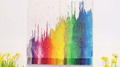 3 variations sur le thème crayons de cire   Les idées de ma maison