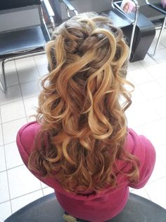 hair for prom <3