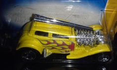 HOT WHEELS 2007 NEW MODELS STRAIGHT PIPES (YELLOW)