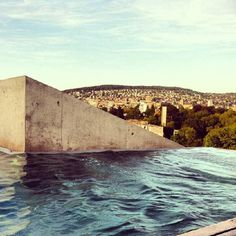 Thermalbad & Spa - afternoon sun from the rooftop heated pool Best Spa, Rooftop Pool, Heated Pool, Zurich, June, City, Travel, Beautiful, Trips
