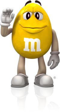 Image result for yellow m and m