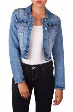 Essential Spring Denim Jacket!