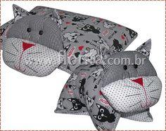 REF. 0103/2013 - Gatinho: travesseiro bichinho!
