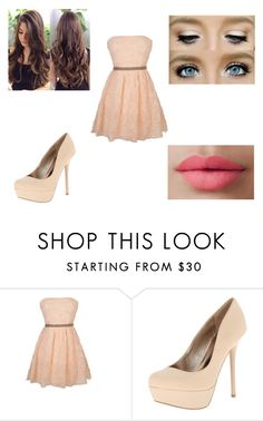 """Untitled #200"" by rachel-lynn786 ❤ liked on Polyvore featuring Qupid and LORAC"