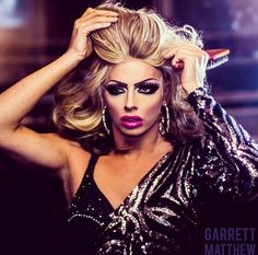 Alyssa Edwards by Garrett Matthew