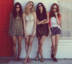 Alice Fortescue, Marlene McKinnon, Dorcus Meadows and Lily Evans spending the summer after graduating Hogwarts together before focusing on jobs and the war.