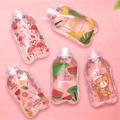 Cute Water Bottles, Best Water Bottle, Mini Bottles, Mini Things, Cool Things To Buy, Warm Bed, Bottle Warmer, Aesthetic Food, Cute Food