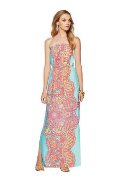 Lilly Pulitzer Resort '13- Emmett Maxi Dress in Groovy imma need this for summer 2k14!