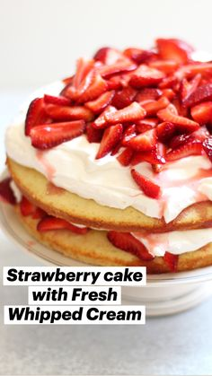 Yummy Treats, Delicious Desserts, Yummy Food, Sweet Treats, Tasty, Strawberry Desserts, Strawberry Cupcakes, Round Cake Pans, Trifles