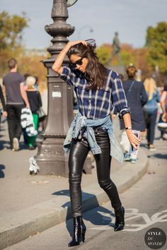 Barbara Martelo Street Style Street Fashion Streetsnaps by STYLEDUMONDE Street Style Fashion Photography