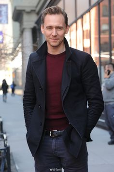 Tom Hiddleston. #NewYorkCity