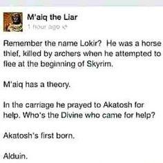 M'aiq, you're a genius