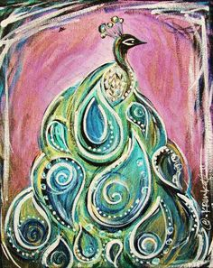 paisley peacock --- wonderful colors!
