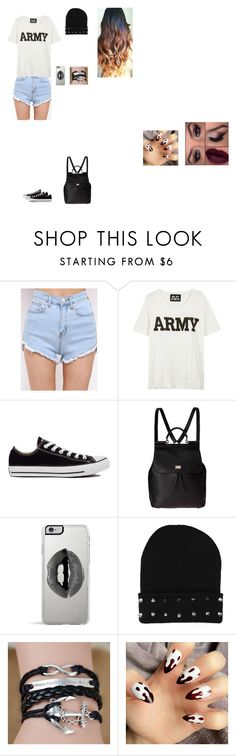 Untitled #45 by sing-into-life on Polyvore featuring NLST, Converse, Dolce&Gabbana and Lipsy