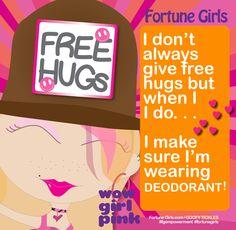 Whoop, whoop!! Bring on the LOVE :) #fortunegirls #FGgoofytickles #oprahwinfrey #ellendegeneres @pharrell