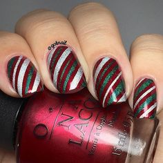 Holiday Nail Art Ideas 2015 | POPSUGAR Beauty