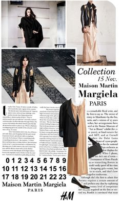 """Maison Martin Margiela with H"" by tea-n-t ❤ liked on Polyvore"