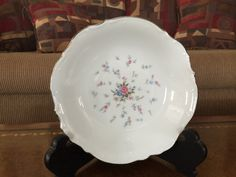 Bristol Rosewood China Soup/Salad Bowls by AlbertsonMiller on Etsy