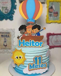@tharomero_personalizados (@make_repost) ・・・ Gente para tudo olha que amor esse topo com o tema do desenho @3palavrinhas para comemorar o…