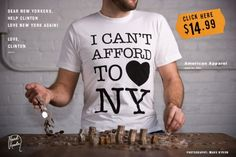 I can't afford to love NY.