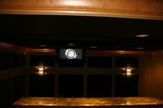 DH Custom Home, home theater in Chesterfield, MO
