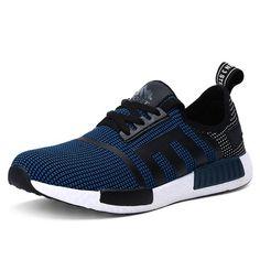 Wholesale Breathable Colour Spliced Tie Up Athletic Shoes - £24.15
