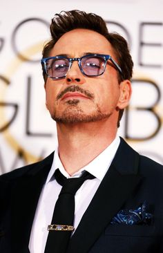 Robert Downey Jr. at the Golden Globe Awards, 2015