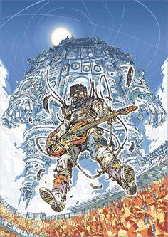 SPACE STEREO – 18 ILLUSTRATIONS PATCHWORK À COUPER LE SOUFFLE DU JAPONAIS HR-FM