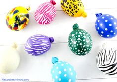 DIY Make Stress Balls Kids Will Love, Super cool squeeze balls, great for anxiety in kids and adults, Easy to make and safe, squishy balls, sensory balls