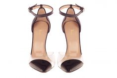 Lamperti Milano PVC and leather Salvation Rod heels