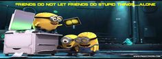 Check out all the awesome minion gifs on WiffleGif. Including all the despicable me gifs, minions gifs, and funny gifs. Gif Minion, Amor Minions, Minion Humour, Cute Minions, Minions Despicable Me, Minions Quotes, Funny Minion, Minions 2014, Minions Pics