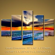 Elegant Designed Contemporary wall art Beach oil painting on canvas. This painting has been stretched on wooden bar and custom framed by a speciali Modern Oil Painting, Oil Painting Abstract, Abstract Wall Art, Contemporary Wall Decor, Modern Wall Art, Large Wall Art, Modern Contemporary, Panel Wall Art, Canvas Wall Art