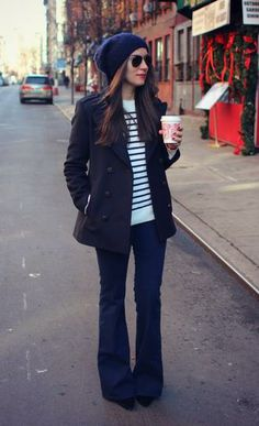 Classic and preppy.  Makes me want to dig out the bootcuts from the back of my closet.