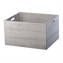 Shop quality baskets & storage boxes at Briscoes. Choose from wicker baskets, plastic boxes & more. Shop online for fast shipping & our price beat guarantee. Wooden Storage Boxes, Storage Baskets, Office Bathroom, Grey Wash, Rental Property, Outdoor Furniture, Outdoor Decor, Wicker Baskets, Storage Solutions