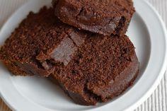 Siempre quise probar la harina de algarroba, y creo que esta receta fue un excelente comienzo. Es rica, húmeda y muy aromática.