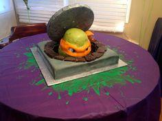 my back pages: owen& teenage mutant ninja turtle birthday party Ninja Turtle Party, Ninja Turtle Birthday Cake, Turtle Birthday Parties, Birthday Ideas, 4th Birthday, Ninja Cake, Birthday Celebration, Birthday Cakes, Teenage Mutant Ninja Turtles