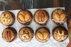 Almond Cacao Cookies with Salted Maca Caramel [Raw Vegan]
