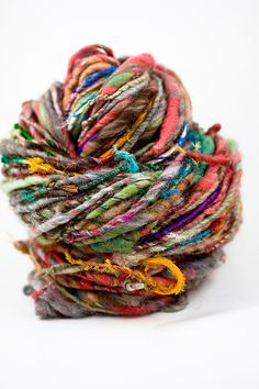 Beautiful handspun yarn