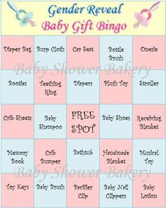 gender reveal party game gender reveal baby shower bingo baby reveal shower game printable gender reveal bingo set of 40 baby gift bingo - Gender Reveal Baby Shower