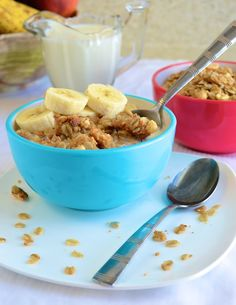 Peanut Butter and Oat Cereal