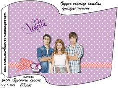 Violetta: imprimibles gratuitos. | Ideas y material gratis para fiestas y celebraciones Oh My Fiesta!