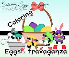 Coloring Eggs-travaganza
