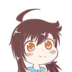 小野寺 春(Haru Onodera) Kawaii Chibi, Anime Chibi, Kawaii Anime, Manga Anime, Anime Art, Anime Meme, Kill La Kill, Nisekoi, Animal Games
