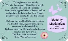 To Laugh often and much Ralph Waldo Emerson quote