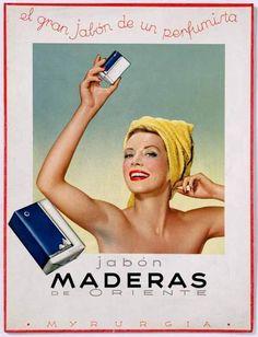 Myrurgia - Maderas de Oriente soap.