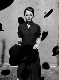 Emma Stone photographed by Jack Davison for The NY Times Magazine
