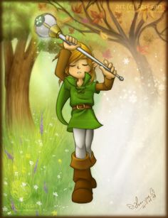 LoZ: Hero of Seasons by *Ferisae on deviantART