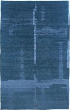 Contemporary rug / silk / wool / plain VERANDA Warp & Weft. This, but in green.